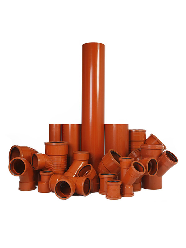 PVC KG pipes and fittings