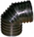 CORRUGATED HDPE  ELBOW 90°