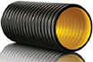 Corrugated HDPE pipe SN4 without socket